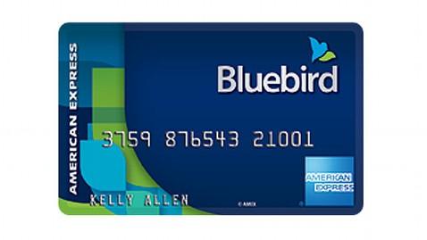 """""""Amex Bluebird Card"""""""