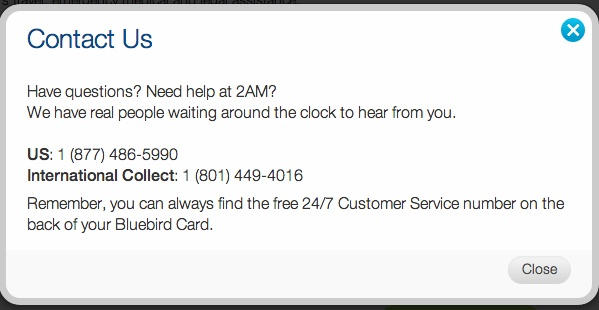"""Bluebird Customer Service Phone Number"""