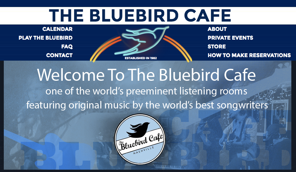"""Bluebird Cafe Nashville"""