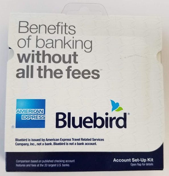 American Express Walmart Bluebird Account Setup Kit