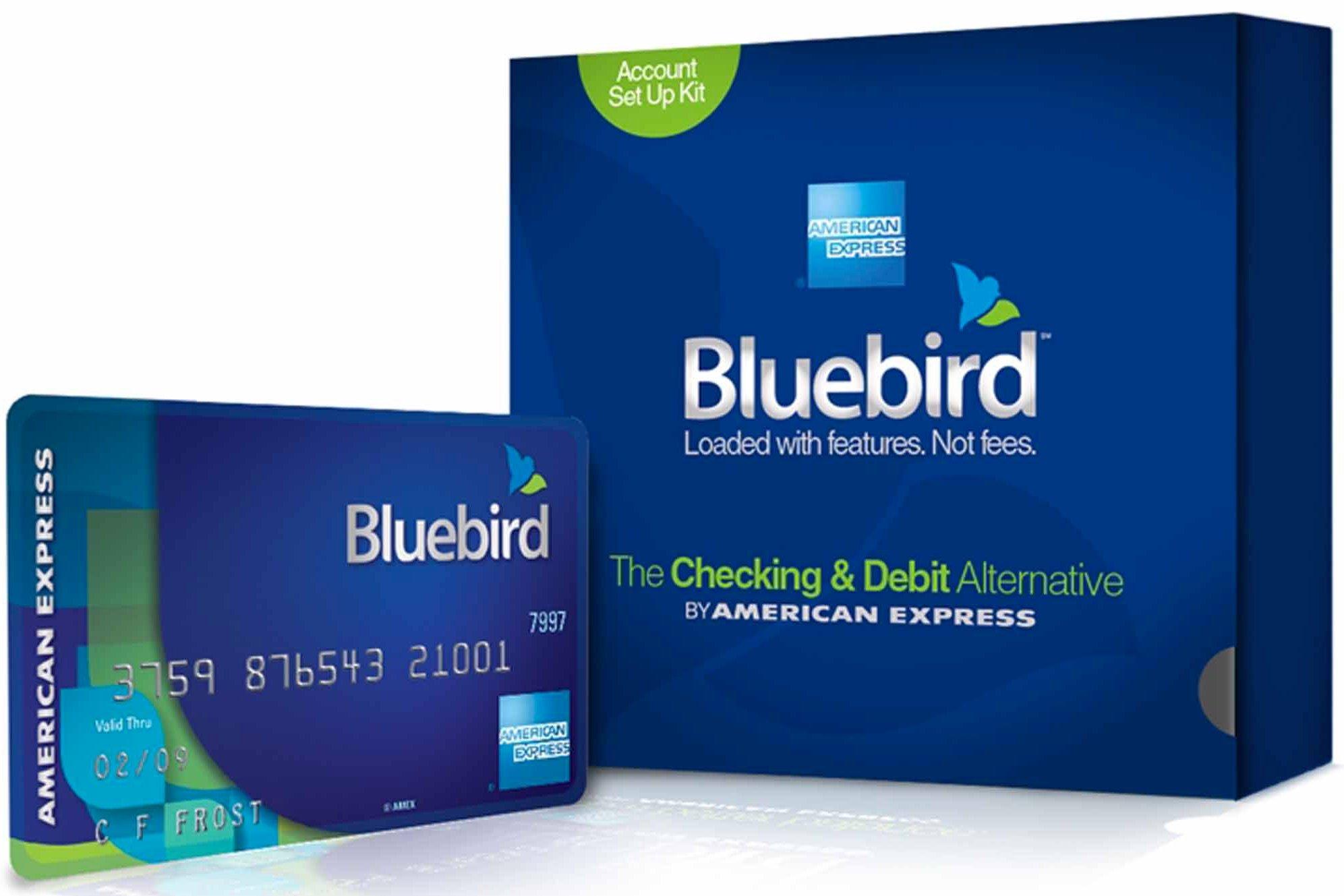 Where to Buy a Bluebird card - American Express Bluebird