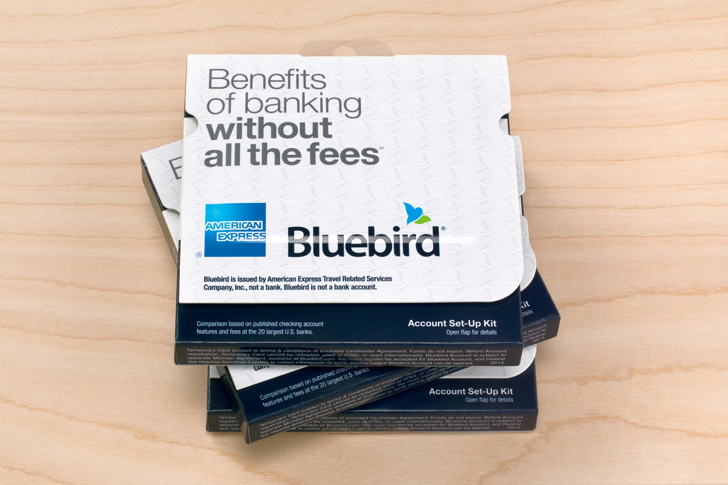 """How to activate new card on Bluebird.com"""