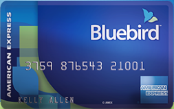 """reasons to get the bluebird card"""